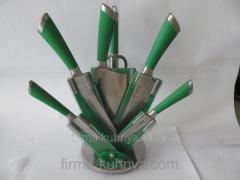 Set of knives, 1166 green