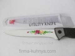 Knife from metal ceramics 499