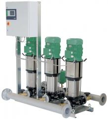 Pump Wilo-Comfort CO-/COR-Helix V installation. /