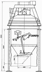 Дозатор весовой автоматический  ДН-1000-Т