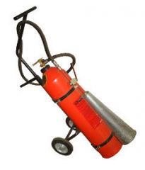 Fire extinguisher carbon dioxide mobile OU-25,