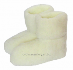 Chuni from sheep wool white
