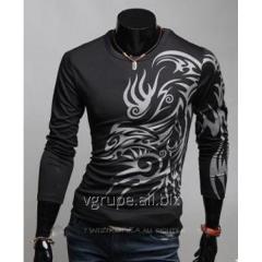 Пуловер стиль дракона, мужской пуловер, кофта