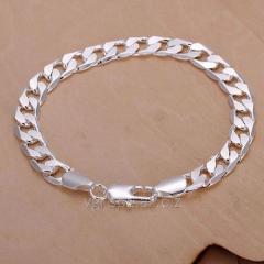 Man's silver bracele