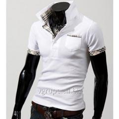 T-shirt under Burberry style, a men's t-shir