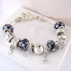 Silver female bracele