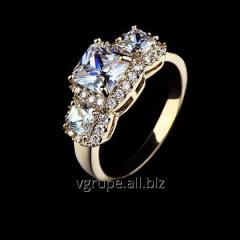 Female ring gilding Princess