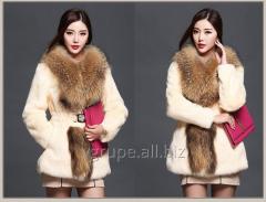 Women's fur coat winter