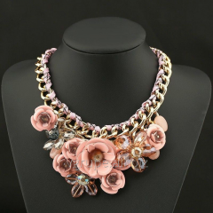 Women's necklace Flower