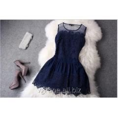 Lacy dress, evening pass a dress, paying