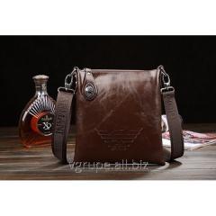 Man's leather bag, fashionable bag