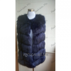 Women's vest fur fabric / zh_noch ves