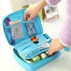 Bag a cosmetics bag for travel / cosmetics bag