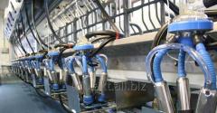 Milkline milking machines