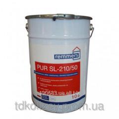 2-component colourless polyurethane varnish on an