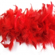 Boa down feather D 10 Red Product code 23342