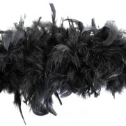 Boa down feather D 10 Black Product code 23341