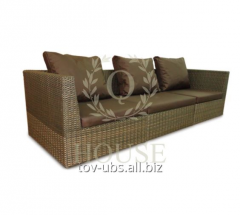 Modular Lagoon rattan sofa