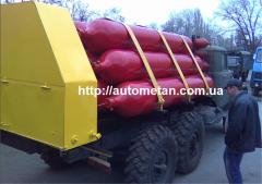 PGU 1000-22 mobile gas installation. Export is