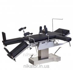 Стол  МТ300, (ренгенопрозрачный) гидравлический с почечным валиком