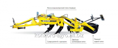 Chizelny plow of Terraland TN 3000 RT