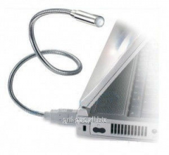 Flexible USB a small lamp for the laptop