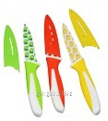 Set of knives piece metal ceramics 3