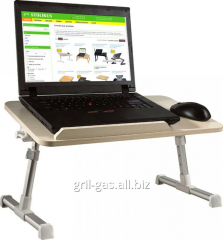 Little table for the laptop and the tablet, an