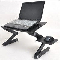 Little table for the laptop with USB cooling and a