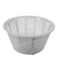 Form plastic for cheese making in assort a cone of