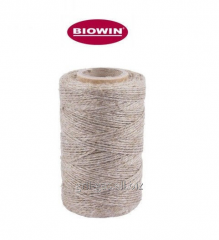 Rope linen opaque for sausage, fish products 240C