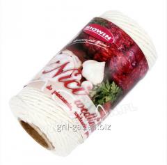 Sausage threads - cotton white, BIOWIN