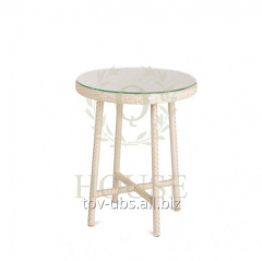 Wattled table high D 800 Baisik, Pradex