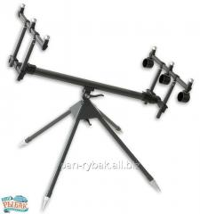 The fanatic Rod Pod on 3 fishing-rods of CZ0537