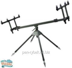 The fanatic Rod Pod on 4 fishing-rods of CZ3132