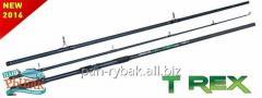"T-REX"" Fiberglass Carp Rod 3 sections"