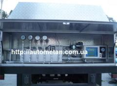 Electronic metering station of the filled UZAM-250