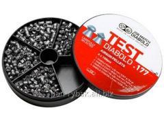JSB Diabolo TEST Exact 4,5 mm 0,51; 0,547; 0,67