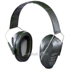 Earphones noise suppression Deben Slim Passive
