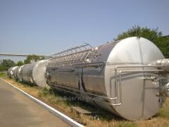 Capacities, tanks, barrels, tanks, 50 m3. from