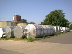Tanks, tanks, capacities, barrels, 50 m3. from