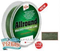 Allround Braided Fishing Line (green), 0,12mm,