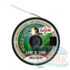 CZ Hooklink Abrasion Black, 25lb, 20 m of CZ1533