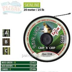 CZ Skinline-Green, 25lb, 20 m of CZ1472