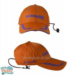 Fishing Cap with LED with orange small lamp