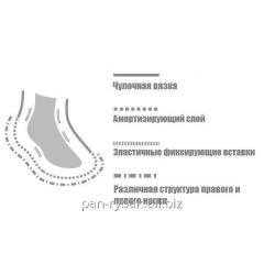 GM Sport Hiking L+R Pro Soft Cotton 16/L socks