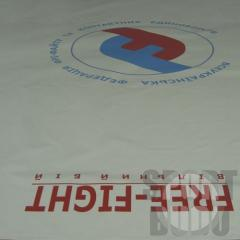 COVERING for a wrestling mat one-color