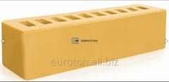 Кирпич лицевой желтый брусок ВФ-16 (250Х65х65)