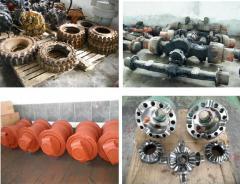 Excavators are wheel: Spare parts to special