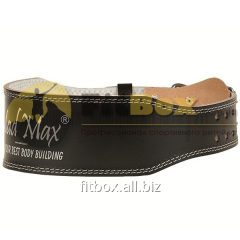 Атлетический пояс Mad Max Belt Full leather, art: MFB-245